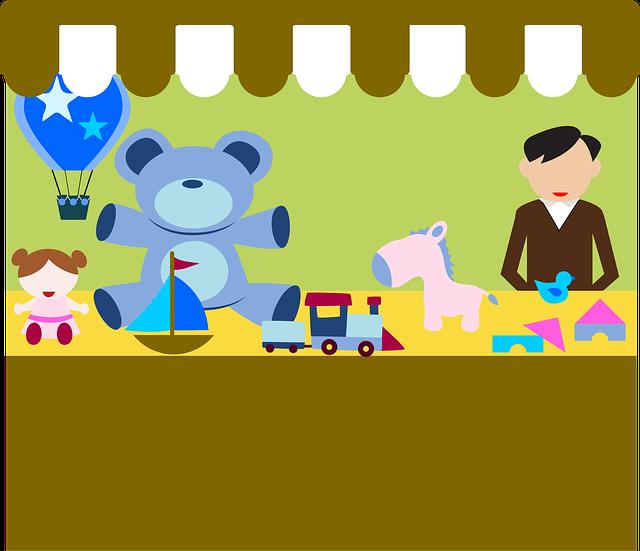 Market, Toys, Fair, Souk, Bazaar, Shop, Awning, Trade