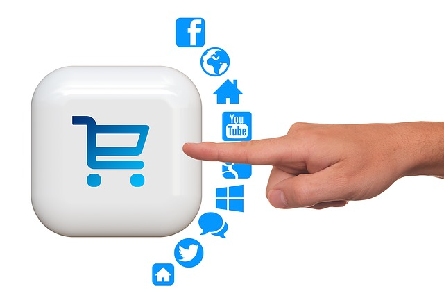 Shopping Cart, Icon, Hand, Finger, Touch, Purchasing