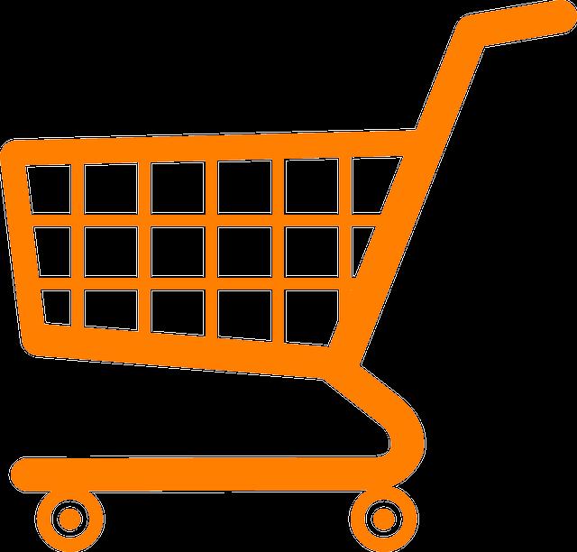 Shopping Cart, Caddy, Shopping Trolley, Trolley