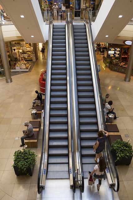 Shopping, Schoppen, Shopping Centre, Stairs, Escalator