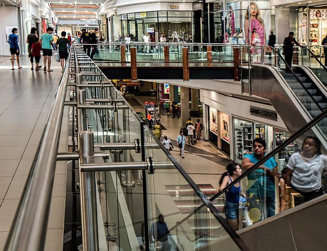 Shopping Mall, Store, Retail, Center, Mall, Shopping
