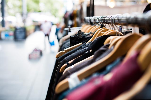 Hangers, Clothing, Shopping, Market, Jacket, Rack
