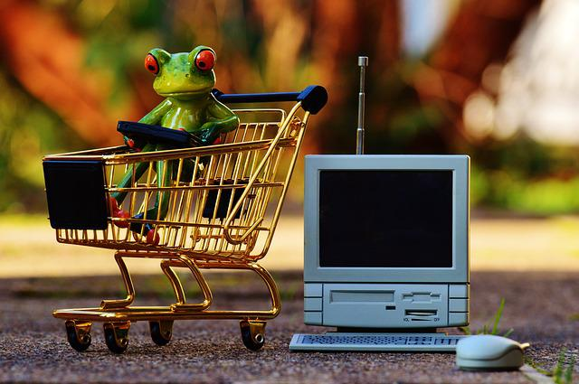 Online Shopping, Shopping Cart, Shopping, Purchasing