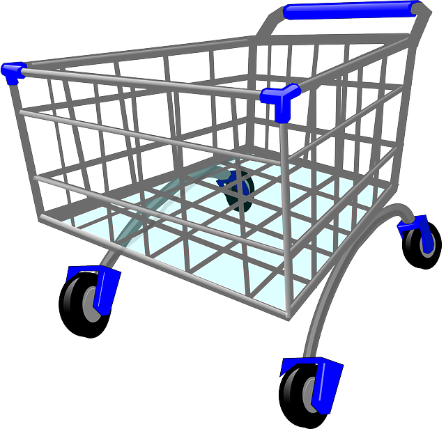 Caddy, Shopping Cart, Shopping Trolley, Trolley