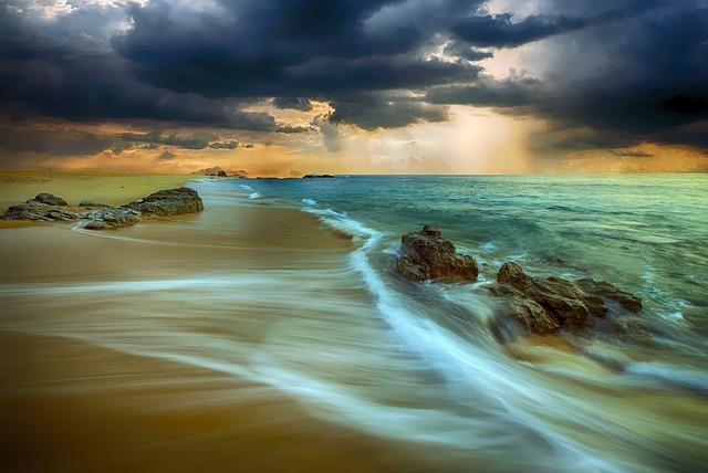 Beach, Shore, Sand, Coast, Nature, Sea, Seascape