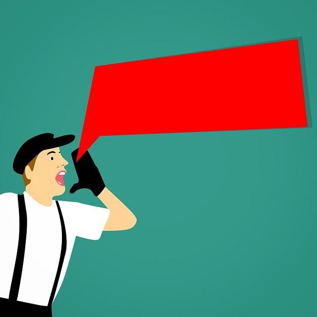 Announce, Marketing, Attention, Communicate, Shout