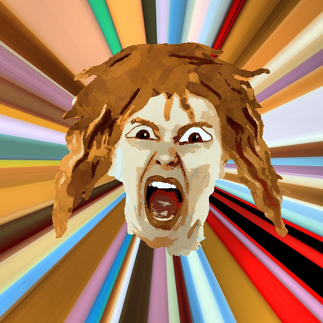 Shouting, Angry, Face, Woman, Scary, Aggressive, Rage