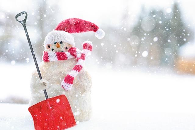 Winter, Christmas, Snow, Snowman, Season, Shovel