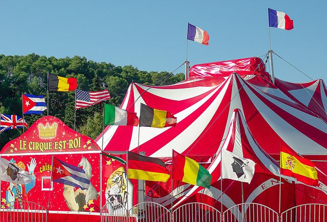 Circus, Marquee, Circus Tent, Show