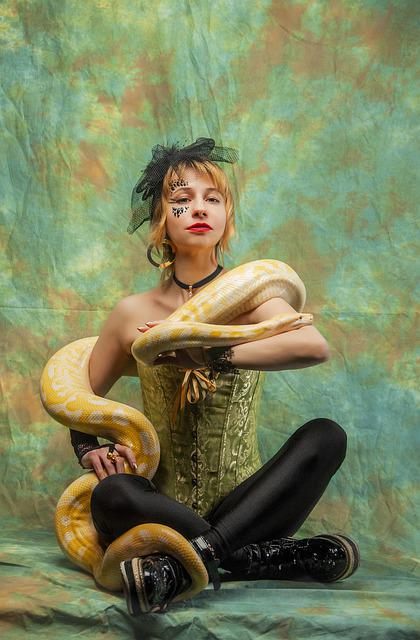 Posture, Show, Python, The Trainer, Snake, Serpentarium