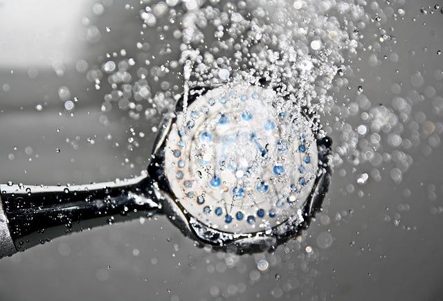 Shower, Shower Head, Water, Drop Of Water, Trays, Swim