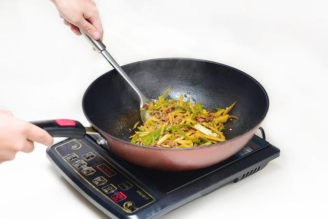 Cook, Shredded Potato, Induction Cooker, Catering