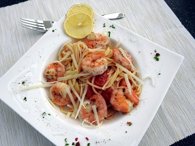 Spaghetti, Shrimp, Noodles, Benefit From, Pasta