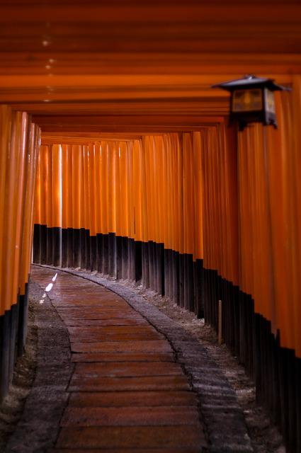 Shrine, Japan, Asia, Building, Fushimi Inari Shrine
