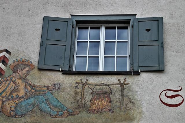 Old Window, Window Sill, Shutters, Old Houses