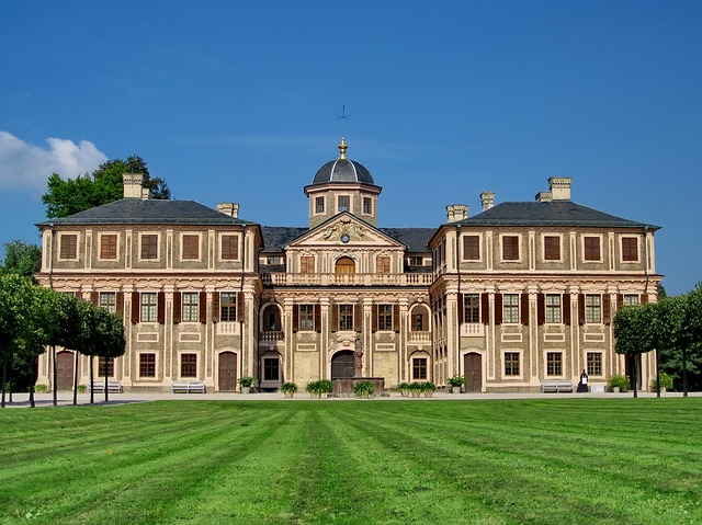 Concluded Favorite, Castle, Sibylla Augusta, Baroque