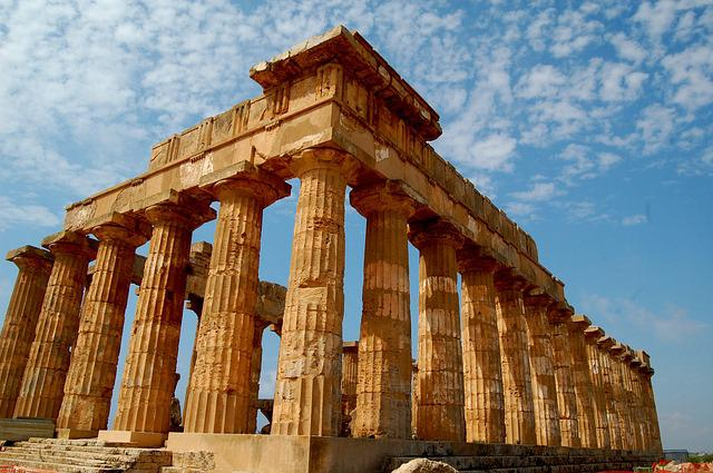 Temple, Greek, Ancient Times, Ruin, Sicily
