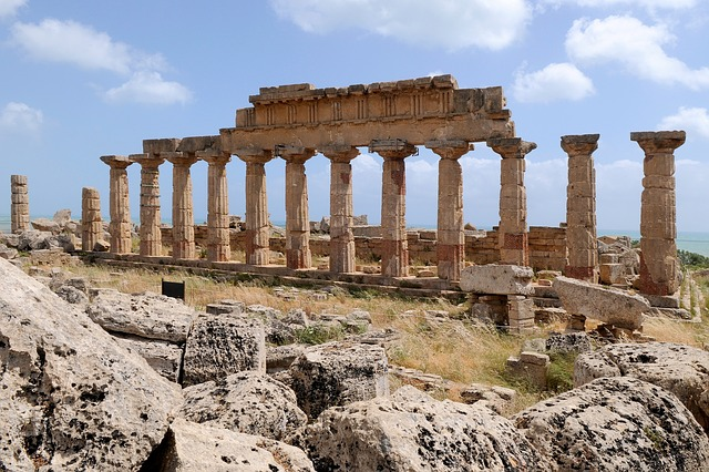 Sicily, Selinunte, Antiquity, Temple