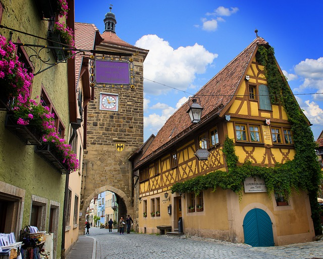 Rothenburg Of The Deaf, Sieber Tower, Middle Ages