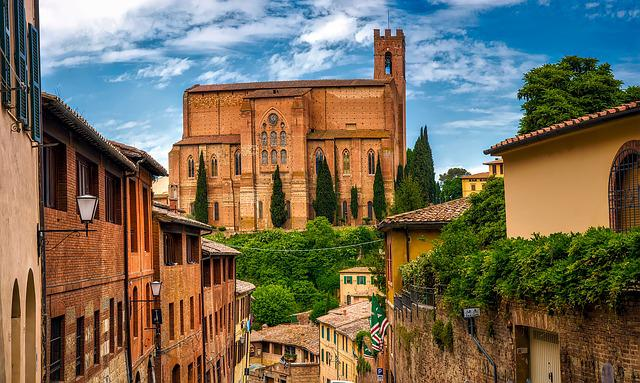 Siena, Italy, City, Town, Landmarks, Historic, Travel