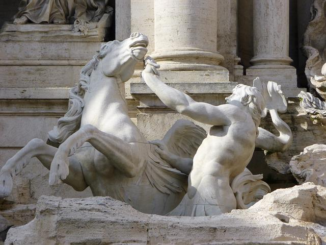 Bernini, Rome, Italy, Statue, Travel, Sightseeing, Roma