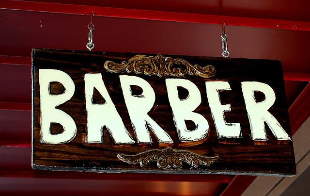 Sign, Barber, Hair, Barbershop, Haircut, Hairdresser