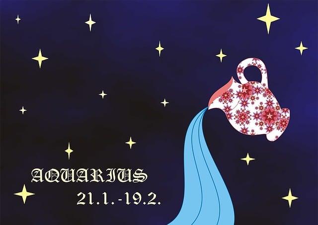 Horoscope, Sign, Zodiac, Sign Of The Zodiac, Aquarius