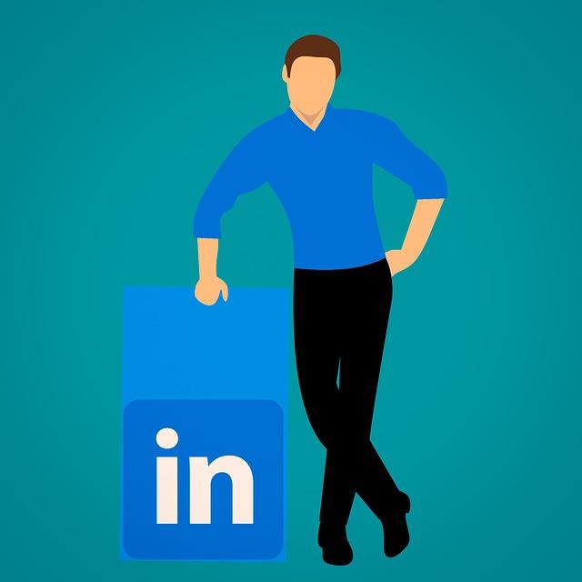 Linkedin, Social, Media, Job, Profile, Sign, Flat