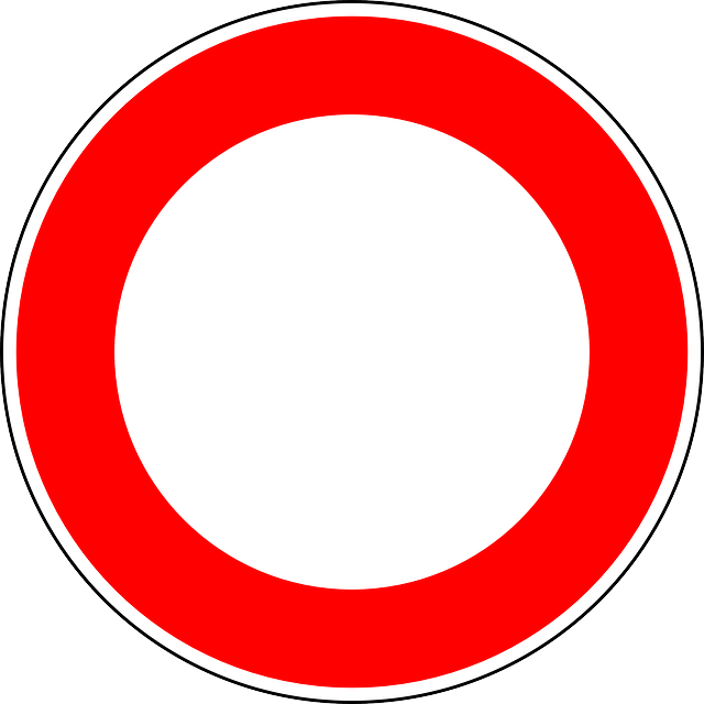 No Vehicles, Traffic Sign, Sign