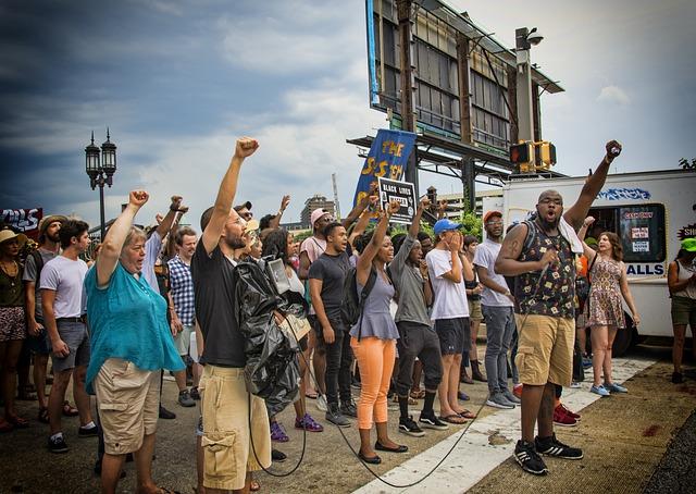Protest, Blm, Black Lives Matter, Sign, Penn Station