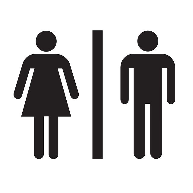 Restroom, Bathroom, Sign, Ladies, Women, Men, Gents