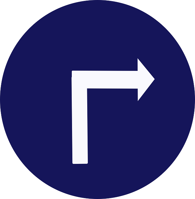 Turn Right, Arrow, Sign, Right, Road Sign, Roadsign