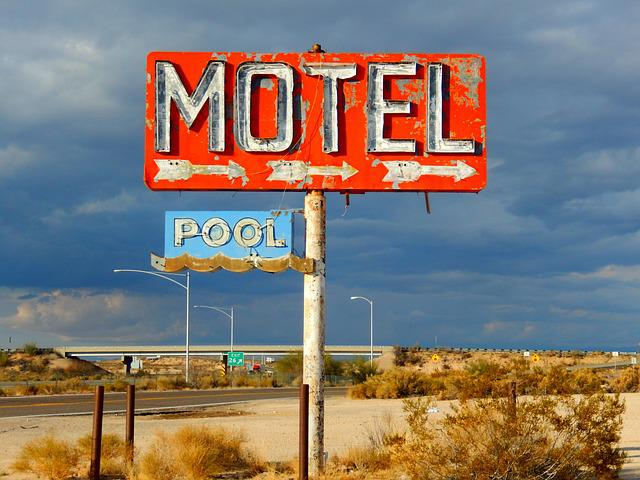 Road, Signal, Guidance, Sign, Signpost, Travel, Motel