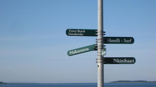 Yyteri, Sign, Nakuranta, Binikibaari, Oasis Resort