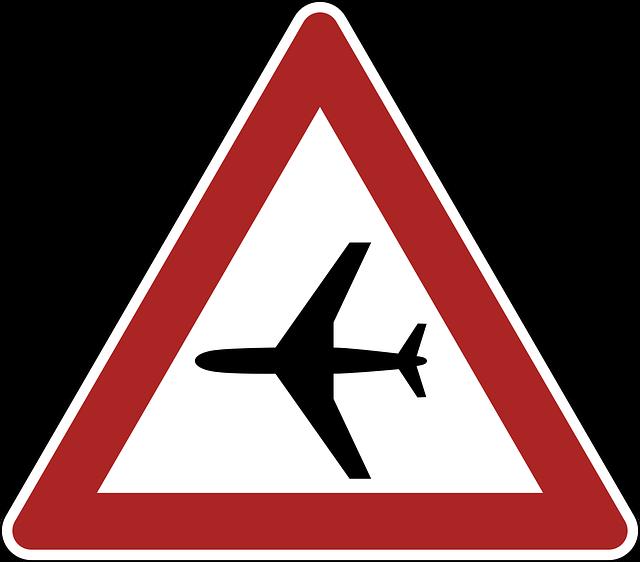 Sign, Flight, Operations, Caution, Signage, Warning