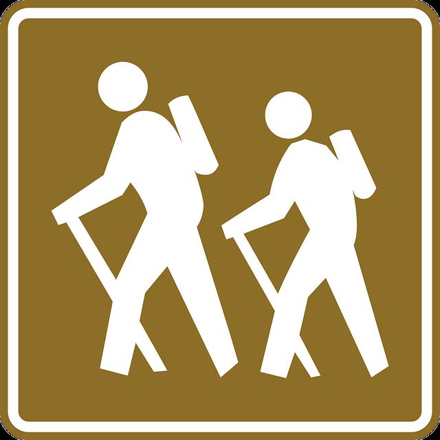Hiking, Sign, Hike, Signage, Tourist, Recreation