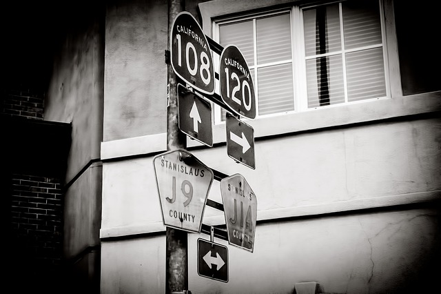 Signage, Retro, Signboard, Road, Signpost, America