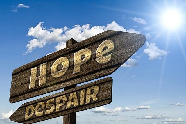 Directory, Signposts, Hope, Hopelessness, Depression