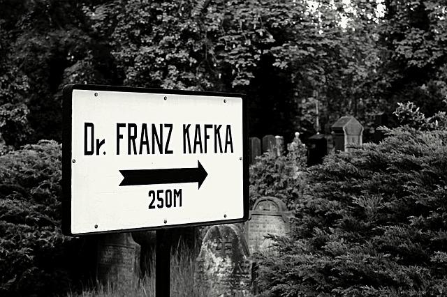 Cemetery, Signs, Direction, Kafka, Writer