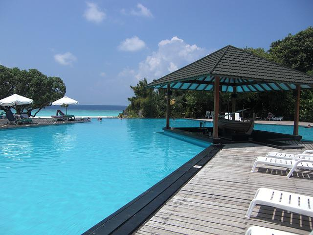 Maldives, Pool, South Sea, Silent, Holiday, Island