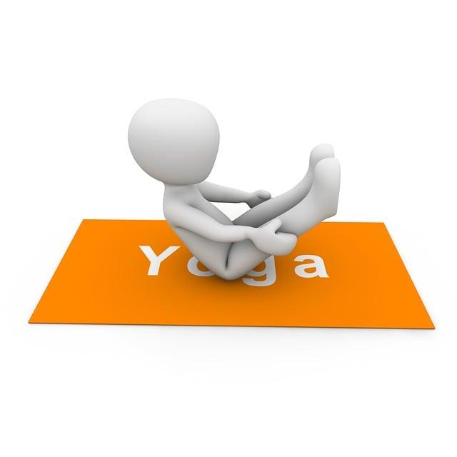 Yoga, Sport, Leisure, Gymnastics, Training, Silent