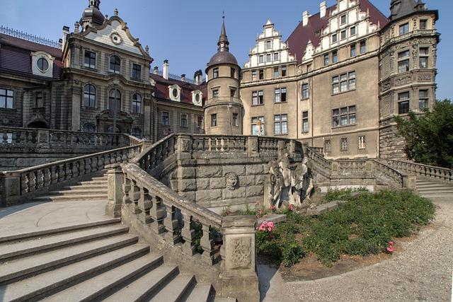 Sabine, Castle, Silesia, Moszna, Neorenesans
