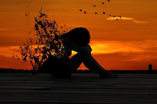 Sunset, Silhouette, Evening, Dusk, Dawn, Woman, Girl
