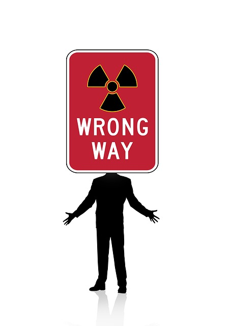 Man, Silhouette, Road Sign, Warning Triangle