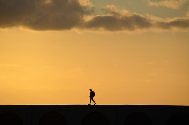 Sunset, Dawn, Silhouette, Dusk, Sky