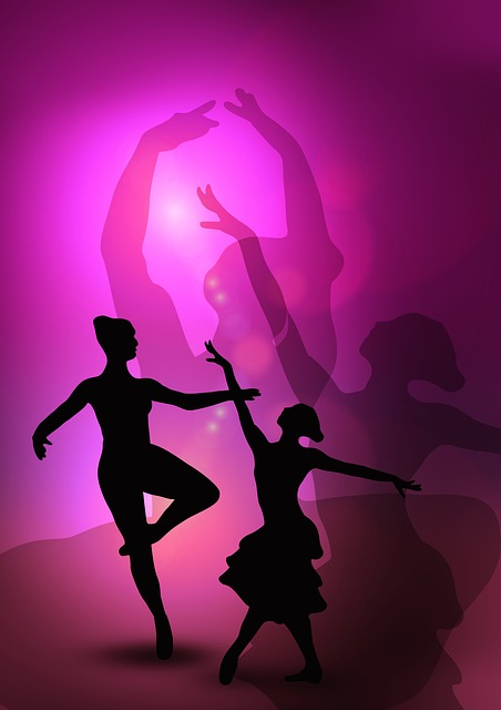 Ballet, Dancers, Woman, Silhouettes, Dance