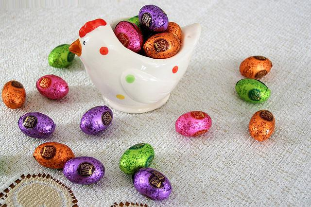 Silver, Chocolates, Eggs, Calories, Decoration, To