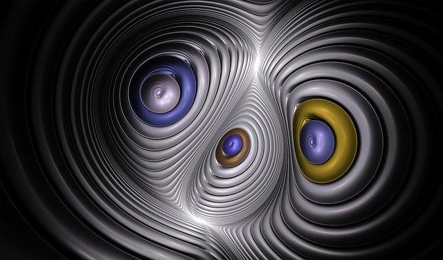 Fractal, Silver, Warp, Pattern, Texture, Metallic