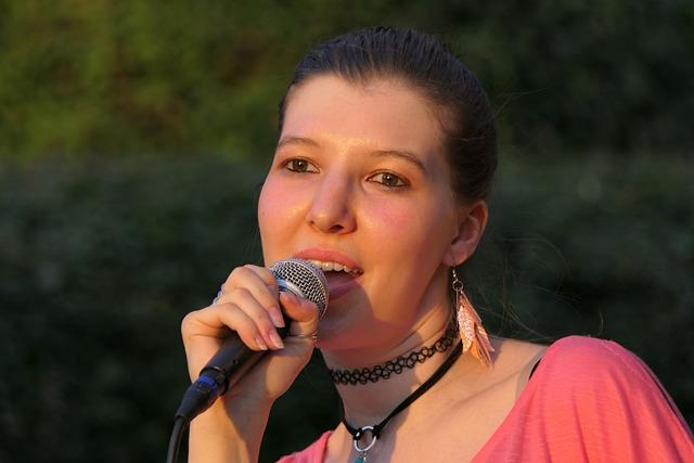 Singer, Live Music, Singing, Sing, Music, Microphone
