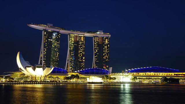 Singapore, Marina Bay Sands, Landmark, Singapore River